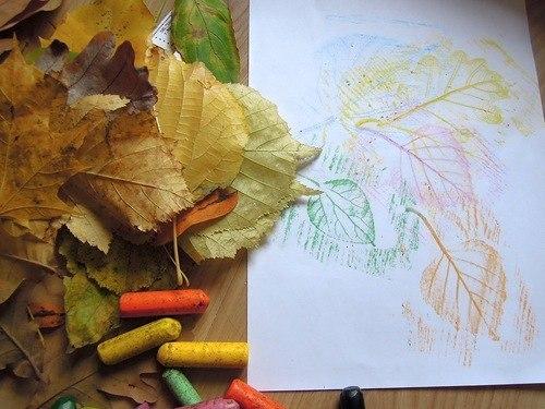 рисуем листья